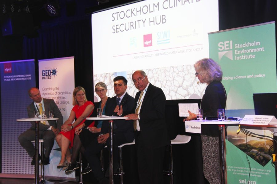Mistra Geopolitics joins Swedish initiative to highlight climate security