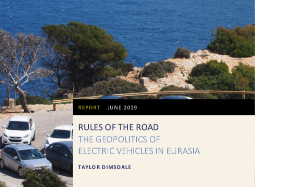 Rules of the Road: The Geopolitics of Electric Vehicles in Eurasia